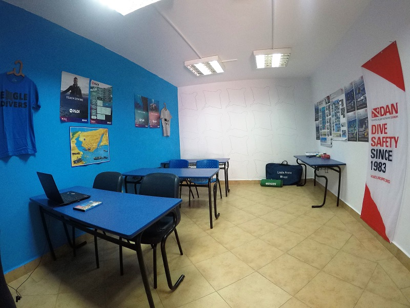 Eagle Divers Classroom One