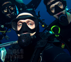 Hull university students Eagle Divers Sharm El-Sheikh Red Sea scuba diveing holidays